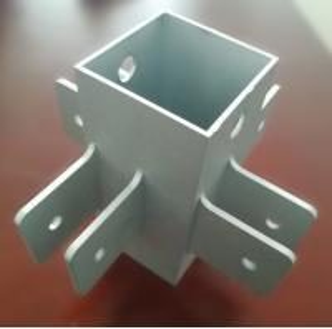 China OEM Machining Service Aluminium Extrusion Profiles 6061- T6 CNC Milling Machine Part wholesale