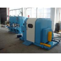 China Blue Color Single Twist Buncher Machine , High Speed Wire And Cable Machinery wholesale