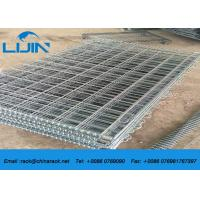 China Warehouse stackable Detachable Steel Wire Mesh Cages with 50*50 Griding wholesale