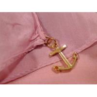 Quality 2013 new fashion pink and grey gradient color Hand Painted Silk Scarf/ chiffon for sale