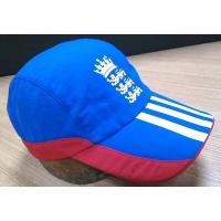 China 2019 New Style 100% Cotton Golf Cap , Navy And Red Fitted Golf Hats Waterproof wholesale