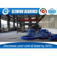 China CRANE T250M Slewing Ring Bearings , External Ring Gear With Surface Quench Hardening wholesale