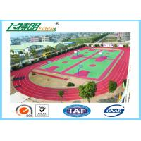 China Durable and Eco-Friendly Ventilative Athletic Running Track Flooring for School Sport Floor wholesale