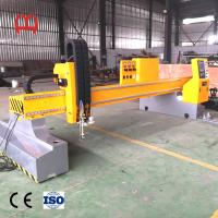 China Low Noise Fiber Laser Pipe Cutting Machine Hypertherms Concise Appearance wholesale