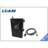 China Long range Video Audio Omnidirectional COFDM Transmitter with External Battery wholesale