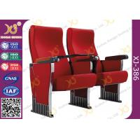 China Metal Structure Slow Returning Auditorium Chairs For Conference Hall Room Fire Proof wholesale