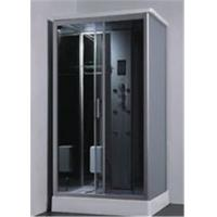 China Comfortable Glass Shower Cabin Complete Shower Cabins With Radio / Bluetooth wholesale