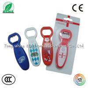 China Crazy Music Bottle Opener for Festival decorative , sound Bottle Opener wholesale