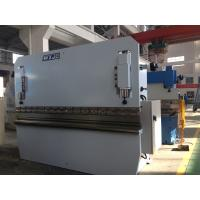 China Mild Steel Stainless Steel Aluminum Sheet Metal Press Brake / Hydraulic Metal Brake Machine wholesale