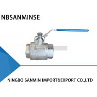China BV - 200 Two Pcs Hydraulic Ball Valve Full Passage BPS ( G ) , SBPT , NPT Thread wholesale