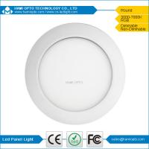 China Round LED Flat Panel Lights 9Watt 85lm/w For Washing Room Lighting wholesale