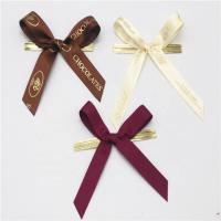 China Colored Small Ribbon Bows 100% Polyester Material Handmade Artworks wholesale