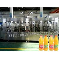 China High Speed Automatic Liquid Filling Machine / Bottling Equipment For Pulp Juice wholesale