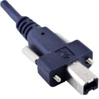 Buy cheap USB 2.0 B Industrial Camera Cable and Printer Data Cable with Screw Locking from wholesalers