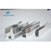 China Dip Anodizing 5u Extruded Aluminum Profiles For Curtain Wall wholesale