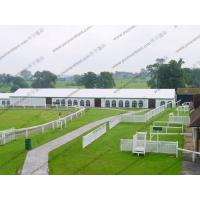 China Aluminum Struceture White Outdoor Tent PVC Sidewalls Contain More Than 500 People wholesale