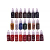 China Biotouch Pigment Tattoo Ink 15ml For Tattoo Eyebrow Semi Permanent Makeup wholesale