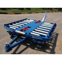 China Airport Pallet Dolly , Ground Handling Equipment 76×4 Millimeter Roller wholesale