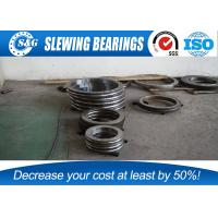 China Tower / Truck Cranes Slew Ring Bearings With Huge Load Bearing Capacity wholesale