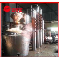 China 1 - 3 Layers Whisky Distillation Kit , Fractional Distillation Apparatus wholesale
