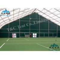 China Waterproof Sporting Event Tents Polygon Sports Hall For Indoor Tennis Sports With SGS wholesale