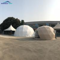 China Warm Home / Hotal / House Pvc Geodesic Dome Tent 6m Diameter In The Cold Weather wholesale