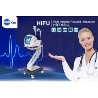 Buy cheap High Intensity Focused Ultrasound Wrinkle Removal HIFU Machine No Side Effects Facial Skin Care HIFU Machine from wholesalers