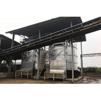 China Bio Organic Fertilizer Rapid 22KW 81m³ Industrial Fermentation Tank wholesale
