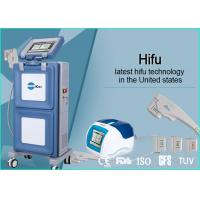 Buy cheap Vertical Portable HIFU Machine High Intensity Focused Ultrasound For Face from wholesalers