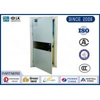 China Single Open Heat Insulated Fire Door With Single Leaf Solid Construction wholesale