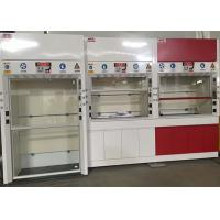 China 12.7mm Worktops Chemical Fume Hood Adjustable Air Volume Up To 0.5m/S wholesale