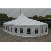 China Special High Peak Tent / Pagoda Tent mixed with Multi-side tent and Church Windows for Exihibition&Festival Celebration wholesale