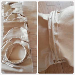 China Durable High Temperature Filter Bags Fibreglass Oil Water Repellent Filter Bag wholesale