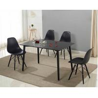 China No Folded Rectangle Dining Center Coffee Table Set For Six Persons Use wholesale
