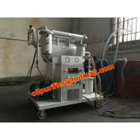 China Portable insulating oil filtration system ,oil purifier to improve oil dielectric strength, low operation on sale
