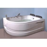 China Air Bath Tub With Heater , 2 Person Jacuzzi Tub Indoor Handle Shower Included wholesale