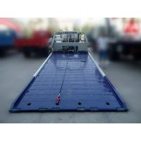 China Low angle full land flatbed wrecker titl tray recovery tow truck wholesale
