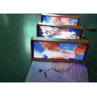 China Outdoor Advertising Taxi LED Panel Taxi Top LED Display Advertising Light Box With 4g / Wifi Control wholesale