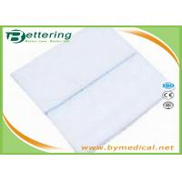 China Medical Wound Dressing Pads Non Woven Swab Sterile Waterproof With X Ray Line on sale