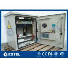 China Custom Pole Mount / Wall Mount Metal Enclosure Galvanized Steel BTS Outdoor Cabinet wholesale