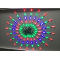 China Synchronized LED Meteor Shower Rain Tube Lights Outdoor Tree Decoration RGB / Blue wholesale