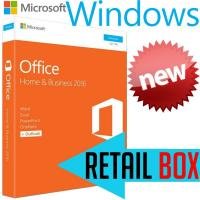 China Microsoft Office Home Business 2016 Retail Box , Support 1 User License Key Office 2016 wholesale