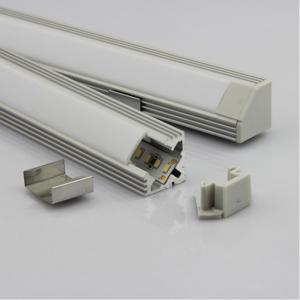 China OEM 30w Extrusion Aluminium LED Profiles Heatsink Cooling For Led Strip / Light fixtures wholesale