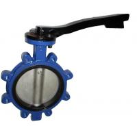 China Casting Steel Material Lug Type Concentric Butterfly Valves NPS2-48 wholesale