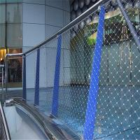 Stainless steel cable webnet netting for stair