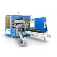 Buy cheap Wine Glass Bottle  Automatic Multi Color Screen Printing Machine With LED UV Curing Device from wholesalers