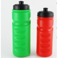 China custom logo Red color 500ml Plastic sports drink bottle with finger Grip wholesale