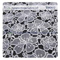Buy cheap Embroidery Lace Fabric for garment,ladies dress,wedding dress from wholesalers