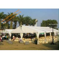 China Fire Retardant Large Wedding Tent Aluminum Structure Water Proof Tents Marquee wholesale