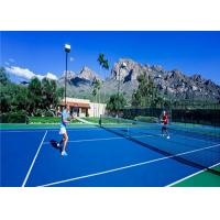 China Outdoor Tennis Court Surface Shock Absorption High Cushion Performance wholesale
